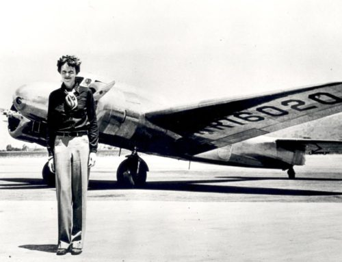 On Amelia Earhart and Narcissists and the Stories We Tell Ourselves
